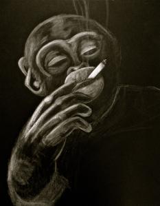 dreams of a smoking monkey 1